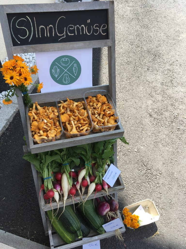 Sinn Gemüse Verkaufsstand