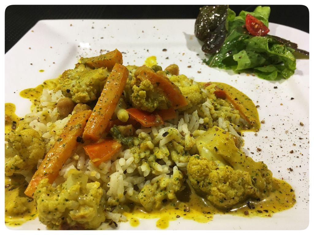 Ofengmias Curry - Sinn Gemüse